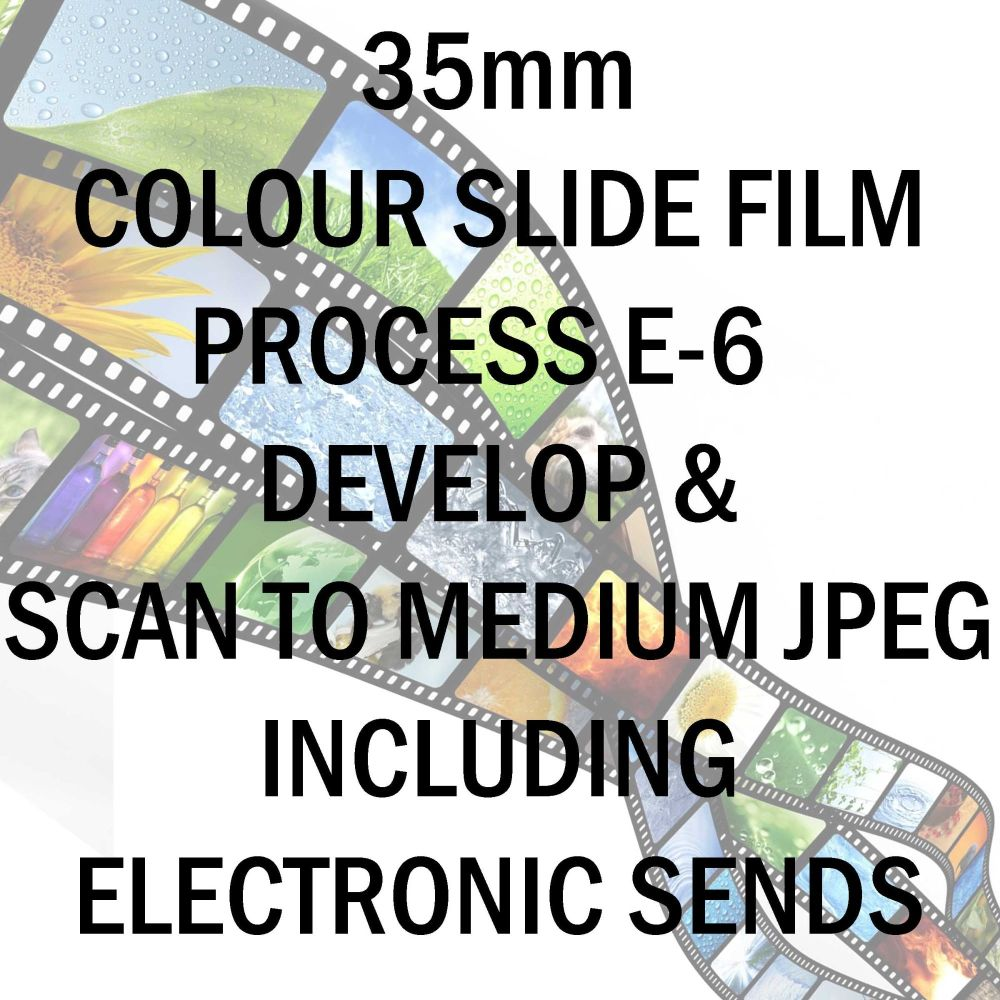35mm COLOUR SLIDE FILM E-6 DEVELOP AND SCAN TO MEDIUM JPEG C-D INCLUDING ELECTRONIC TRANSFER TO EMAIL ADDRESS