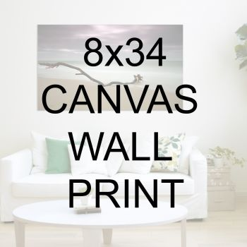 "8x34"" Canvas Wrapped Prints"