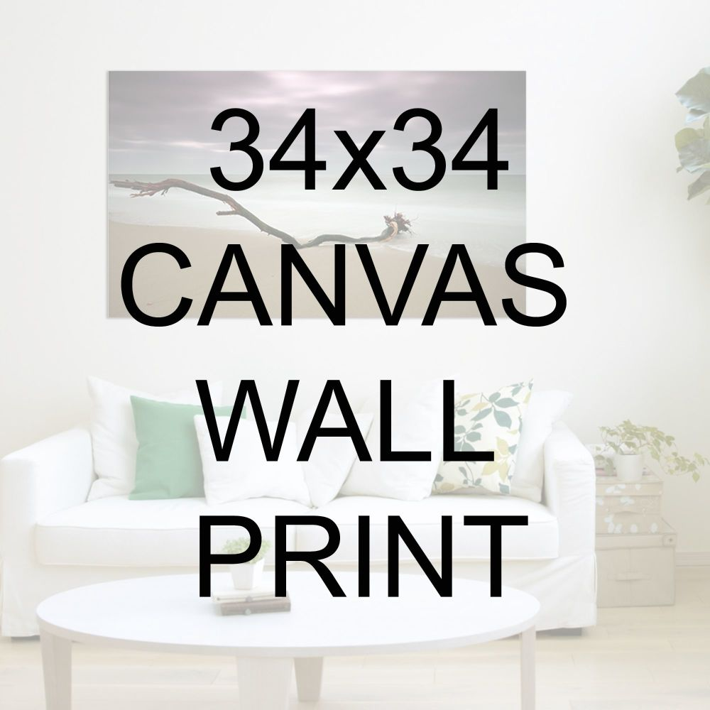 "34x34"" Canvas Wrapped Prints"