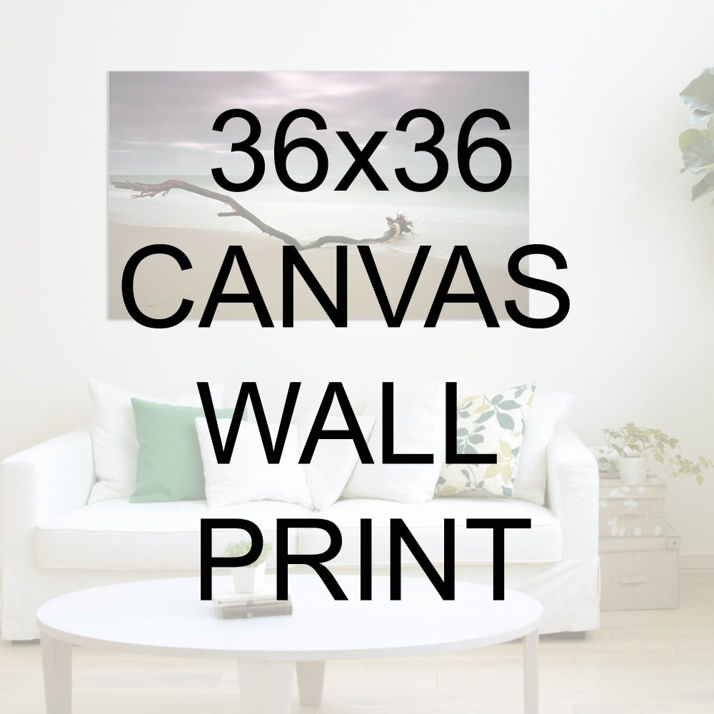 "36x36"" Canvas Wrapped Prints"