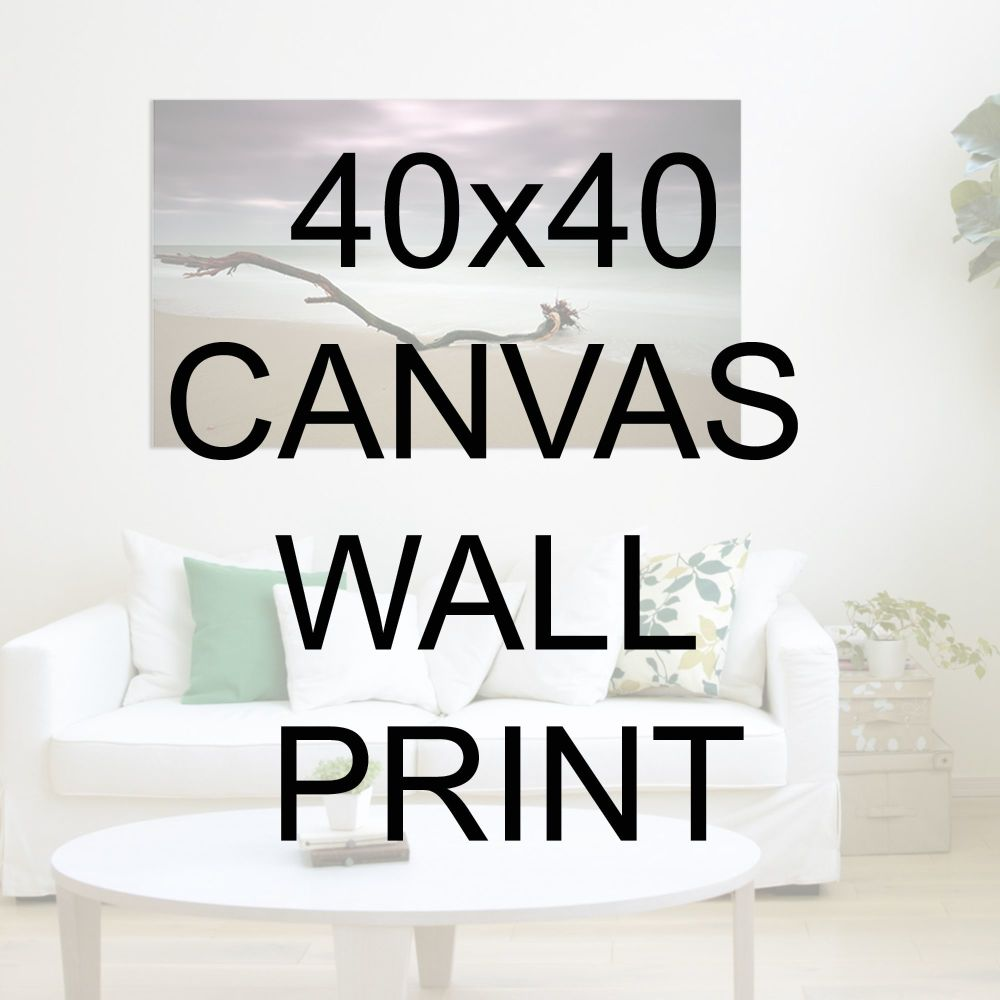 "40x40"" Canvas Wrapped Prints"