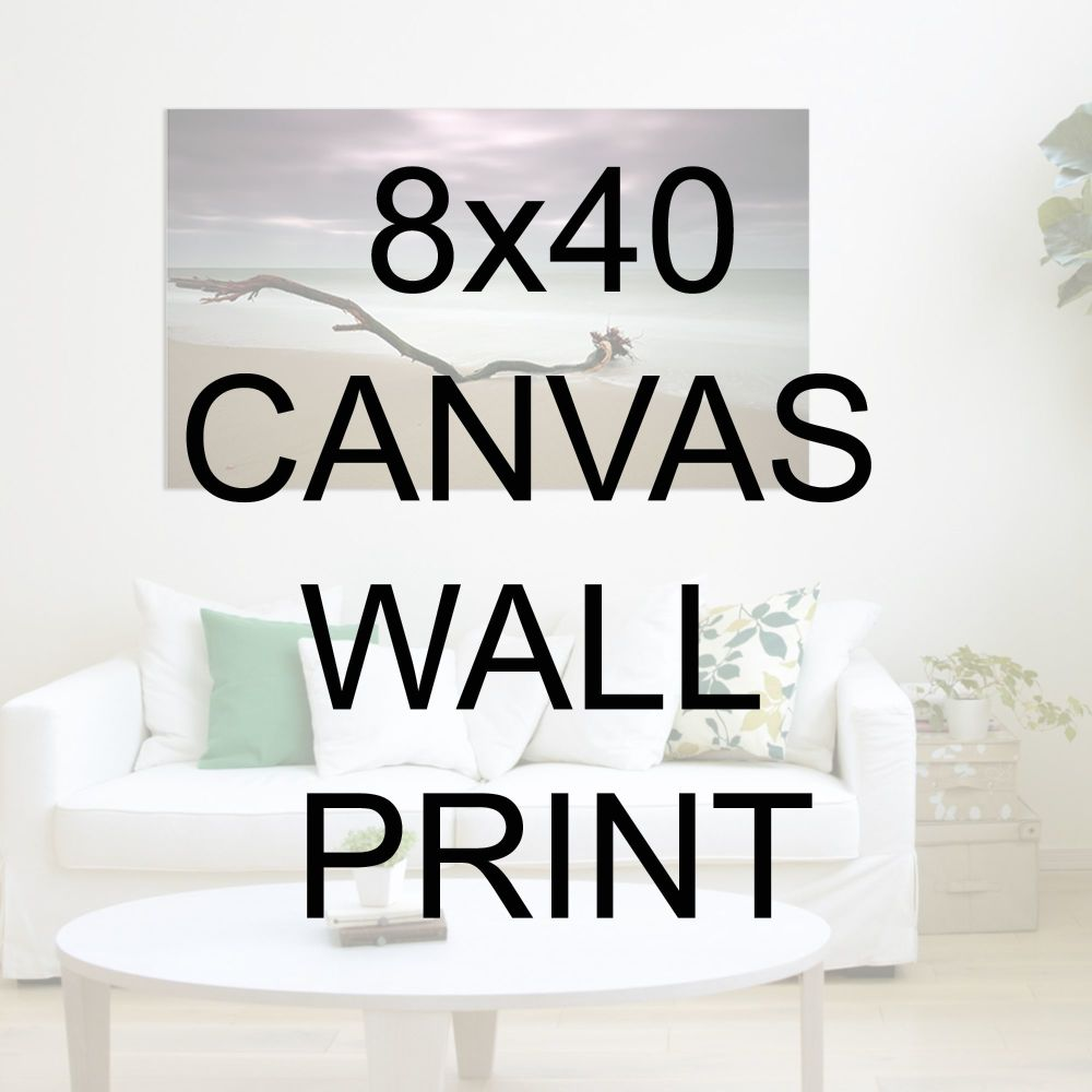 "8x40"" Canvas Wrapped Prints"