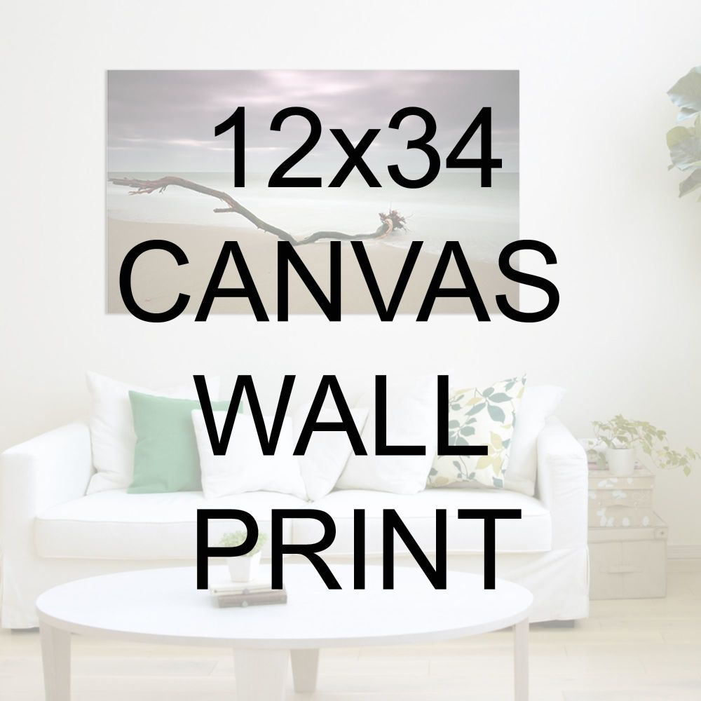 "12x34"" Canvas Wrapped Prints"