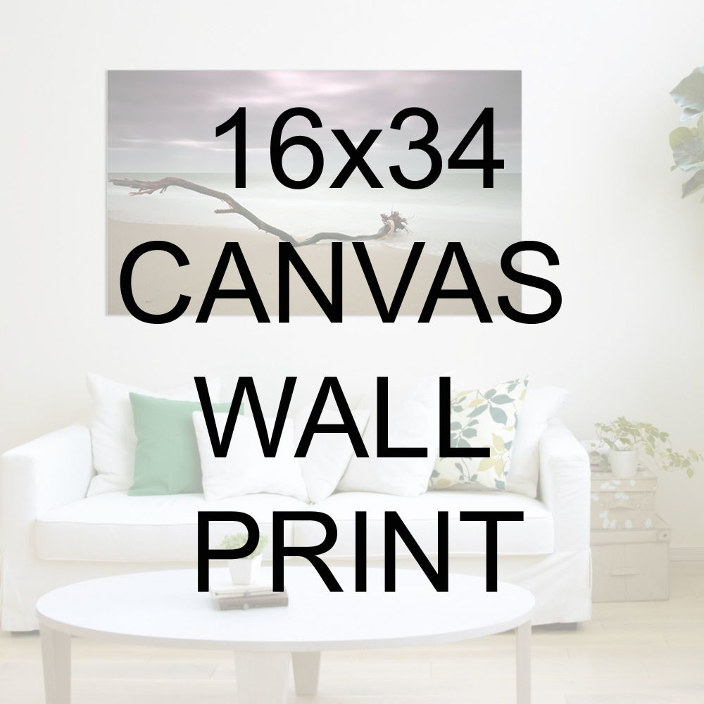 "16x34"" Canvas Wrapped Prints"