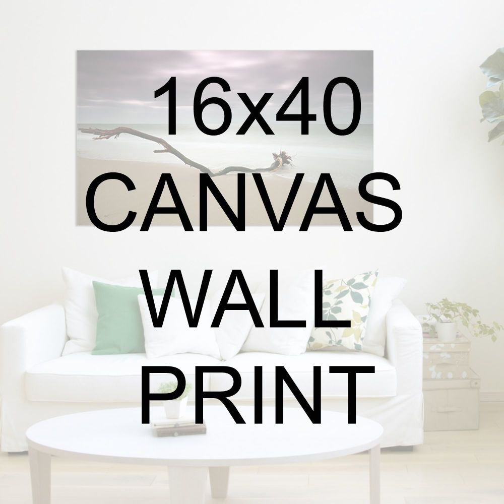 "16x40"" Canvas Wrapped Prints"