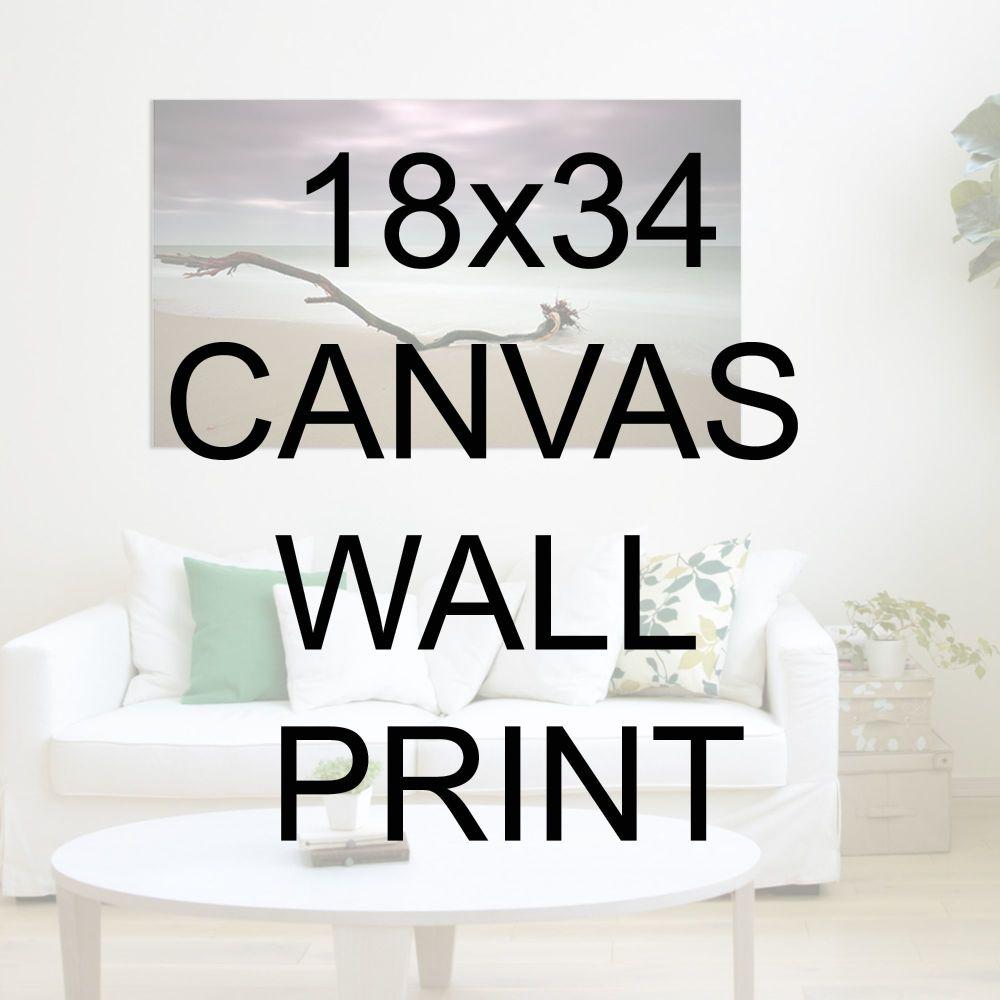 "18x34"" Canvas Wrapped Prints"