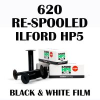 RE-SPOOLED 620 ILFORD HP5 BLACK AND WHITE FILM