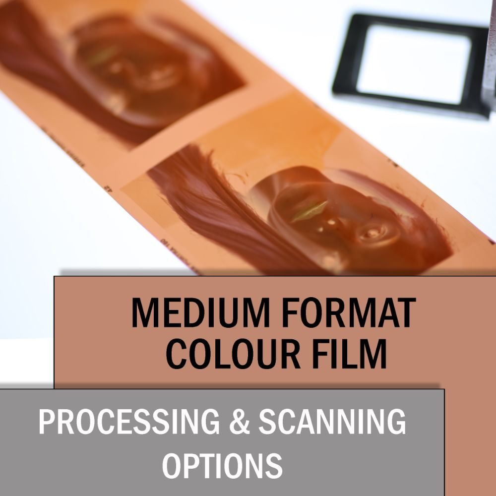 120 COLOUR FILM PROCESSING & SCANNING OPTIONS