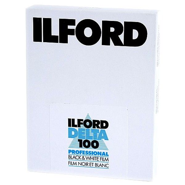 ILFORD DELTA 5X4 25 SHEETS B/W FILM