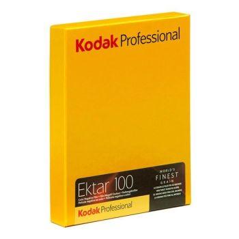KODAK EKTAR 100 5X4 COLOUR FILM 10 SHEETS