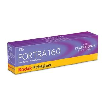 KODAK PORTRA 160 135 - 36 EXP 5 ROLL PACK