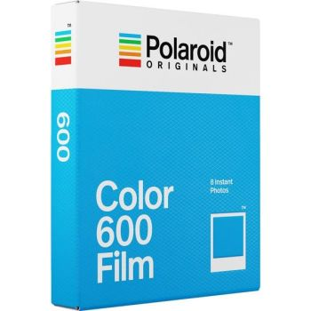 POLOROID 600 COLOUR FILM 8 SHEETS