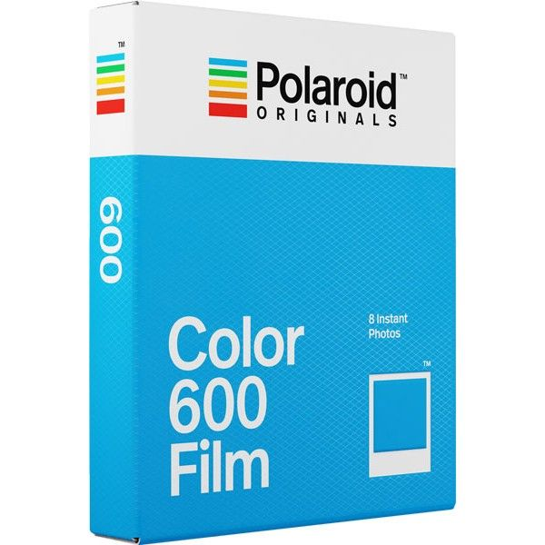 POLOROID 600 COLOUR FILM 8 SHEETS
