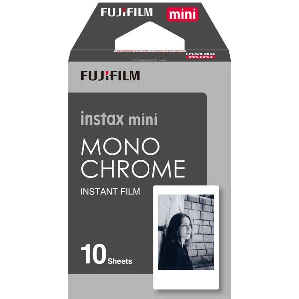 FUJI INSTAX MINI 10 SHEETS MONOCHROME