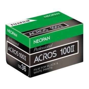 FUJI ACROS 100 135 36 EXP BLACK & WHITE