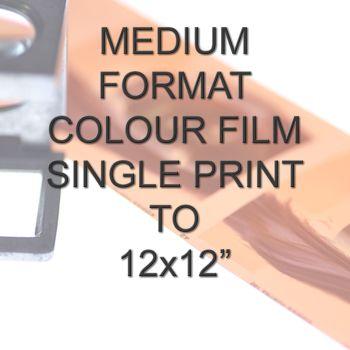 MEDIUM FORMAT COLOUR SINGLE PRINT 12X12