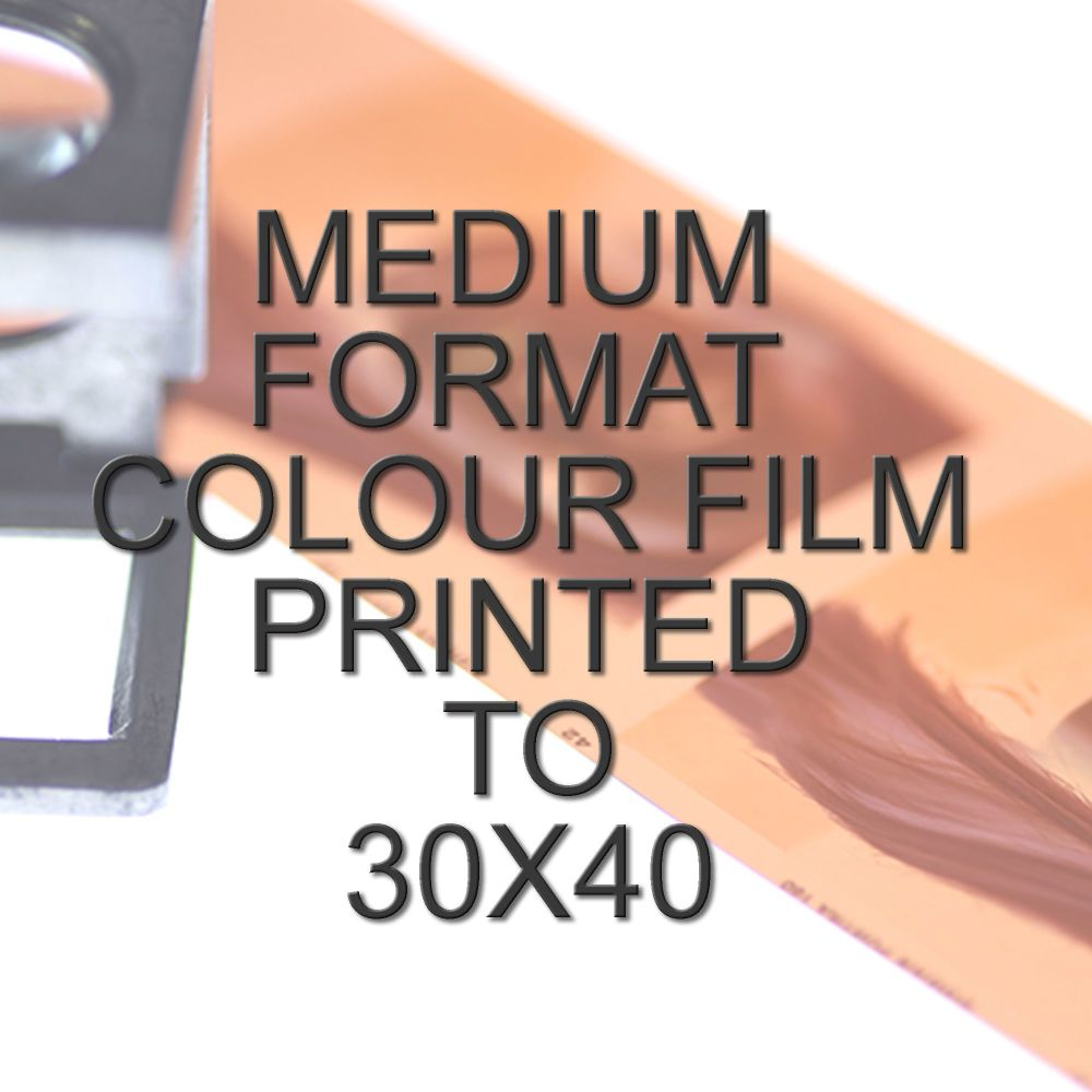 MEDIUM FORMAT COLOUR SINGLE PRINT 30x40