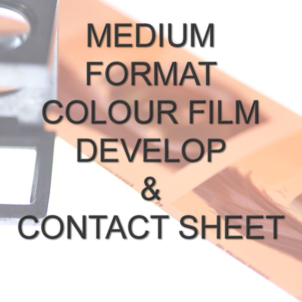 MEDIUM FORMAT COLOUR DEVELOP  AND CONTACT SHEET