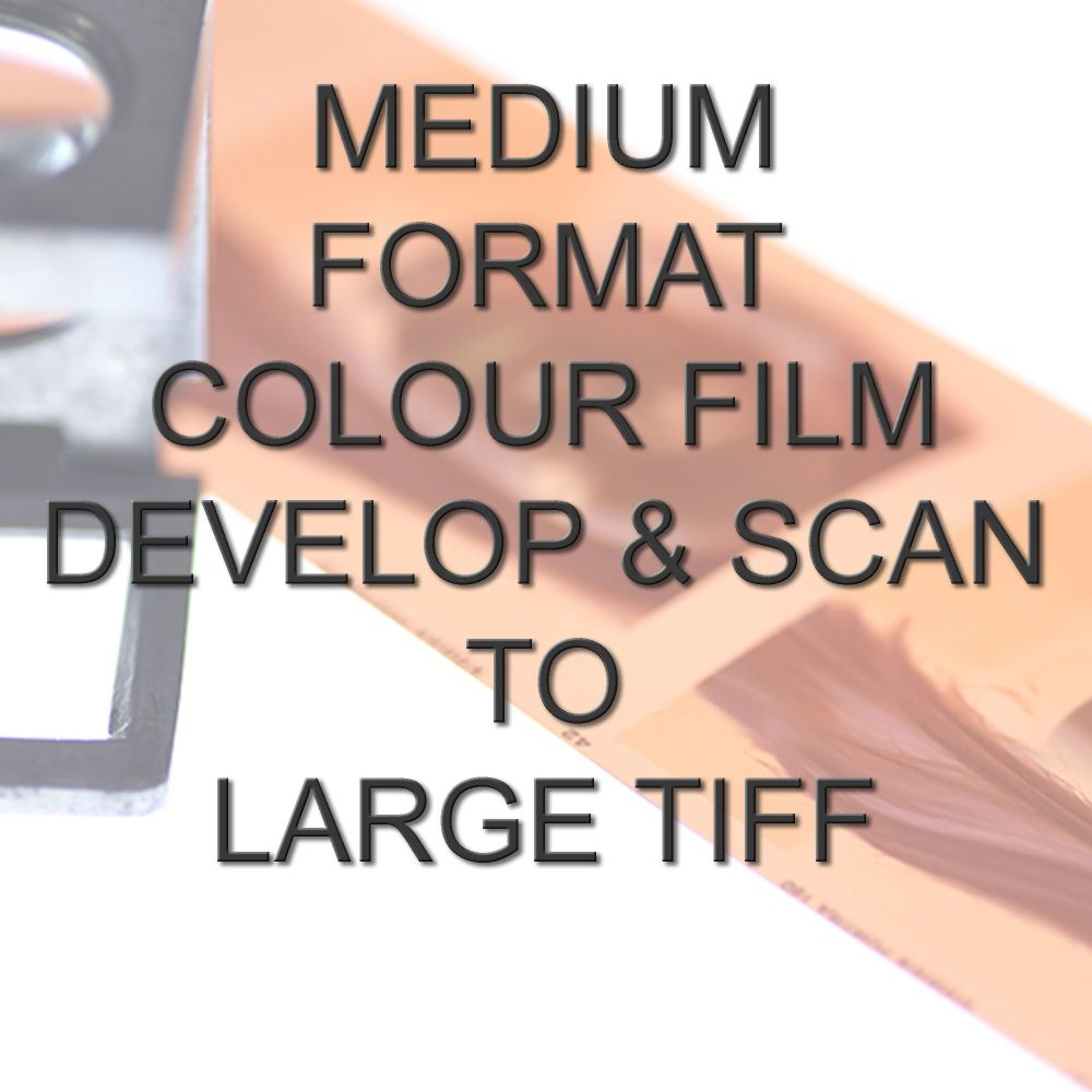 MEDIUM FORMAT COLOUR DEVELOP  AND SCAN LARGE TIFFS