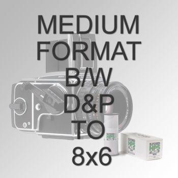 MEDIUM FORMAT B/W D&P TO 8x6
