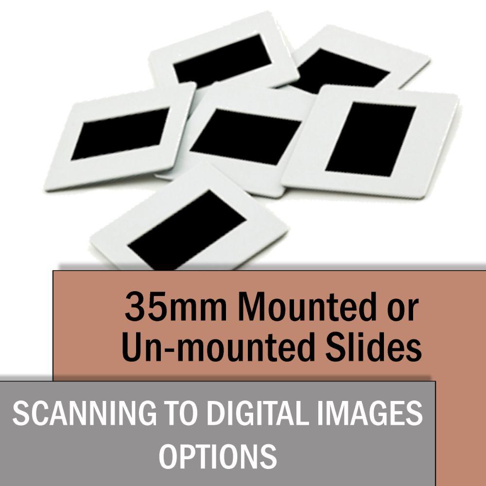 35mm Slides Scanned to Digital Images