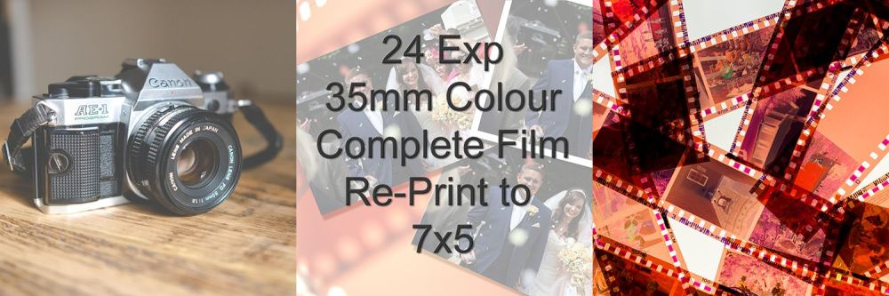 COMPLETE FILM RE-PRINT TO 7X5