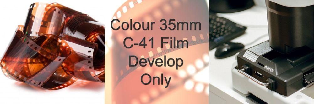 35mm C-41 Colour Film Process Only