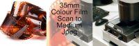 35mm COLOUR FILM PROCESS AND MEDIUM JPEG SCAN