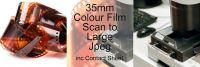 35mm COLOUR FILM PROCESS AND LARGE JPEG SCAN INC CONTACT SHEET