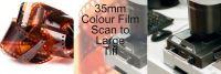35mm COLOUR FILM PROCESS AND LARGE TIFF SCAN