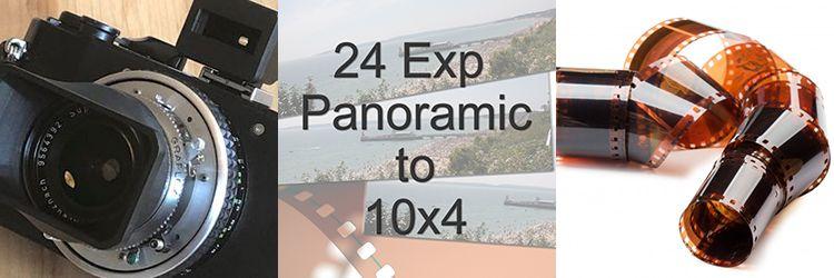 24 EXPOSURE COLOUR FILM TO 10X4