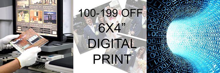 100-199 DIGITAL PRINTS TO 6X4