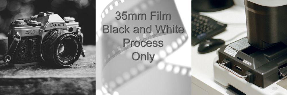 35mm BLACK & WHITE FILM DEVELOP ONLY