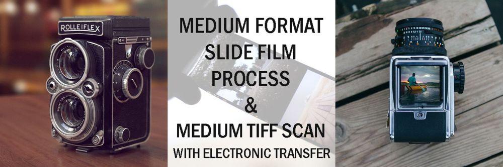 120 E-6 DEV & MEDIUM TIFF SCAN WITH EMAIL TRANSFER