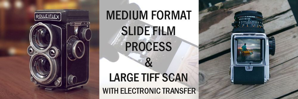 120 E-6 DEV & LARGE TIFF SCAN WITH EMAIL TRANSFER