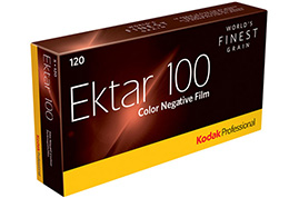 KODAK EKTAR 100 5 ROLL PACK 120