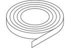 Bushboard Omega S049 Slate- 4.2mtr Edging Strip