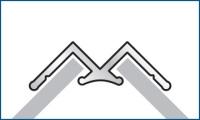 SplashPanel 2.4mtr Internal Corner Silver
