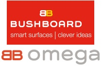 Bushboard Omega Worktop Samples, Please Select Required Samples