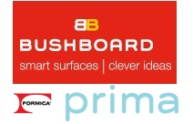 Bushboard Prima Worktop Samples, Please Select Required Samples (MAX6)
