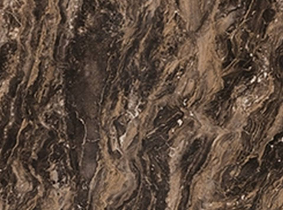 Marbled Cappuccino - Radiance Finish