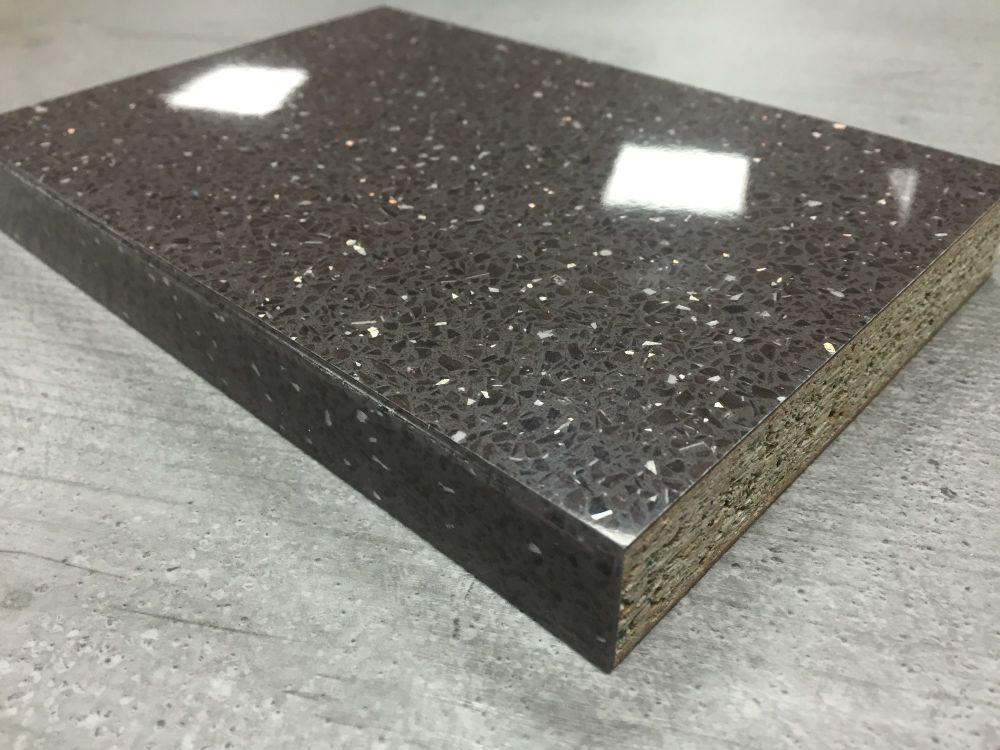 Bushboard Omega F071 Cinder Quartz 4 1mtr 22mm Slimline