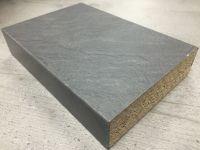 Bushboard Omega S049C Slate - 4.1mtr Curved Kitchen Worktop Square Edge
