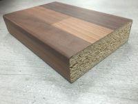 Bushboard Omega A017 Antique Blocked Walnut - 3mtr Kitchen Worktop