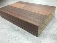 Bushboard Omega A017C Antique Blocked Walnut- 4.1mtr Curved Kitchen Worktop SQ Edge