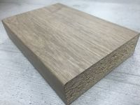 Bushboard Omega C132 Tobacco Oak - 4.1mtr Breakfast Bar