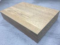 Bushboard Omega N059 Natural Blocked Oak - 4.1mtr Square Edge Kitchen Worktop