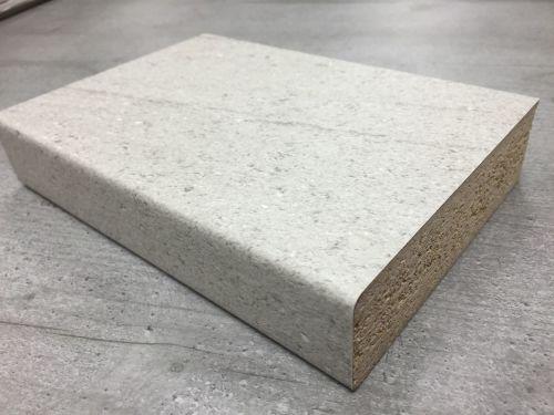 Bushboard Omega R100 Urban Concrete - 4.1mtr Breakfast Bar