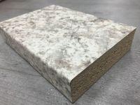 Bushboard Omega G113 Granite Bianco - 3mtr Kitchen Worktop