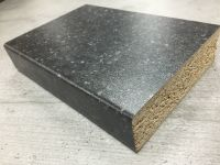 Bushboard Omega S104 Black Pebblestone - 4.1mtr Breakfast Bar